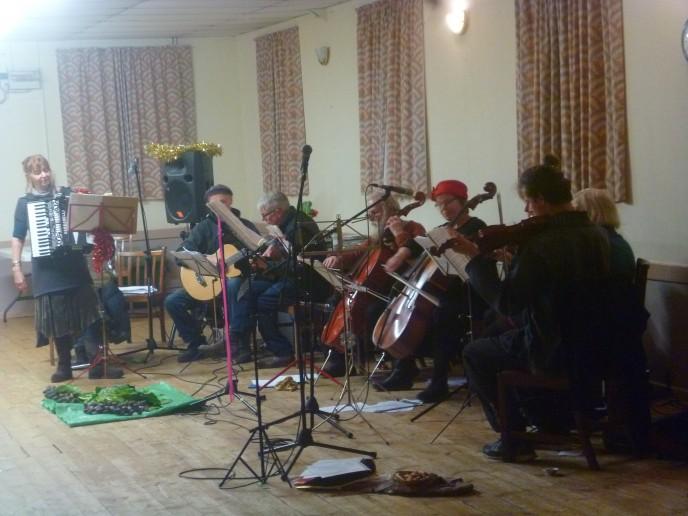 Custard Band prepares