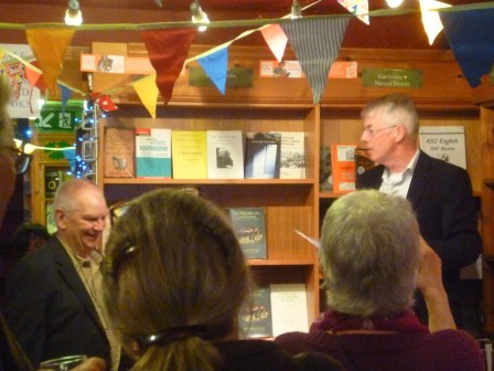 At the clsoing event Andrew Taylor offers a tribute to Doug and the achievements of the Forestbookshop